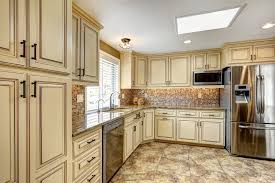 cream cabinet kitchen tips for distressed kitchen cabinets new home design