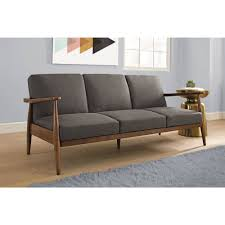 Mid Century Modern Furniture Sofa by Better Homes And Gardens Flynn Mid Century Futon Multiple Colors