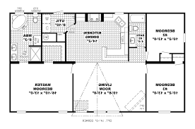 Floor Plans For One Story Homes One Story Open Concept Floor Plans