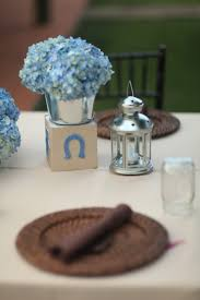 blocks u0026 flowers for baby shower centerpiece party ideas