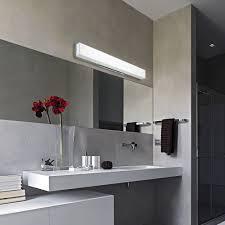 Modern Bathroom Light Bar Chrome Bathroom Lighting Led Light For Vanity Mirror