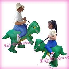 Halloween Blow Costumes Kids Chub Jurassic Dragon Suit Inflatable Clothing