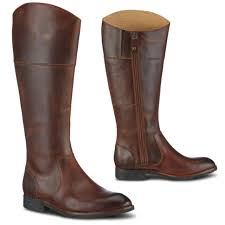 womens knee high boots uk sebago nashoba leather 100 rider womens knee high boots brown uk 4