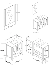 standard bathroom vanity sizes home design ideas marvelous