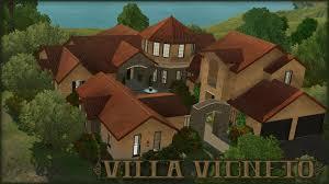 Mediterranean Houses by The Sims 3 Home Building Villa Vigneto Let U0027s Build A