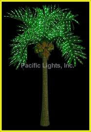 led lighted palm tree pacific lights inc led lighted