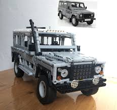 land rover defender 2017 lego moc 7246 map land rover defender 110 5 doors bodywork