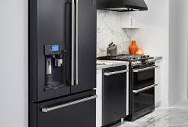 what color cabinets with slate appliances black slate appliances arrived mcmunn yates