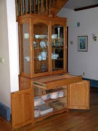 red oak china cabinet finewoodworking