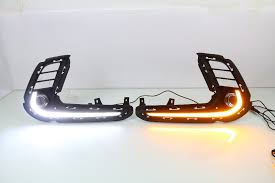 hyundai elantra daytime running lights aliexpress com buy eosuns led drl daytime running light for