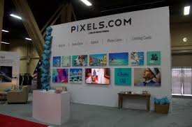 pixels com first appearance at licensing expo 2015 fine art
