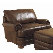 leather sofa with nailheads lane chocolate leather sofa with nailhead trim home u003e living