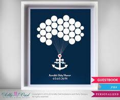 year 2 anniversary giftahoy its a boy baby shower guest 16x20 sign in poster nautical theme baby shower