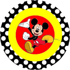 inspired mickey mouse free party printables red black