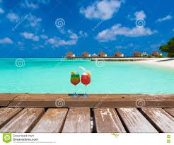 holiday cocktails background maldives cocktails stock photo image 75013114