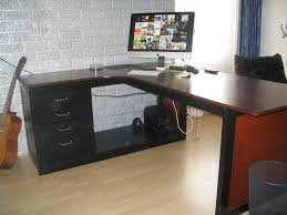 ikea galant desk top shelf decorative furniture