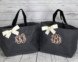 bridal party tote bags wedding tote bridesmaids gift personalized tote bag wedding