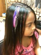 feathers in hair shear adventures haircuts for kids a children s and family