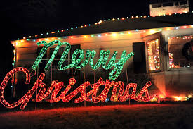 lighted merry christmas yard sign mcevily merry christmas ok if you insist houston chronicle