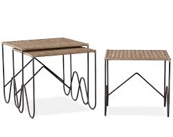 martini tables wicker nesting tables hollywood at home