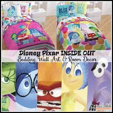 inside out bedding wall art and bedroom decor new disney pixar inside out bedding wall art and bedroom decor