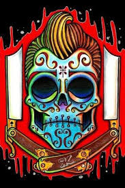 collection of 25 sugar skull graphic