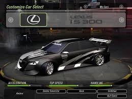 lexus is300 top speed lexus is300 by lux21 need for speed underground 2 nfscars