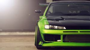 cars nissan wallpapers al walgeneral 1920x1080 car nissan silvia green cars