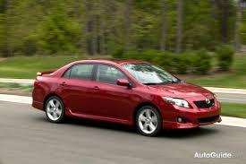toyota corolla 09 2009 toyota xrs compact sedan review car reviews