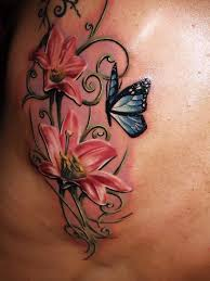 tattoo butterfly rose 37 inspiring butterfly and rose tattoos