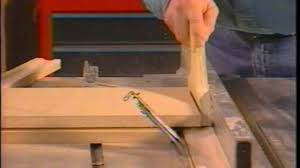 miter cuts on table saw how to compound miter cuts with table saw youtube