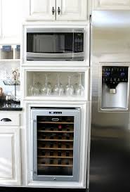 kitchen microwave ideas microwave kitchen furniture free standing cabinet rack with basket