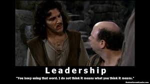 Inigo Montoya Meme - leadership i do not think it means what you think it means