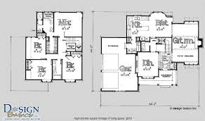 2 story home floor plans wondrous 11 2 story square house floor plans 2200 home array