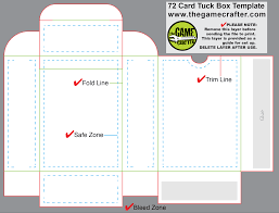 poker tuck box 72 cards