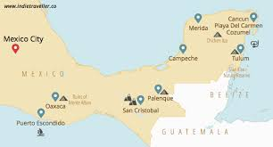 map of mexico yucatan region mexico travel guide must see places to visit tips maps