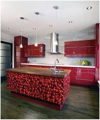 kitchen black kitchen countertop cherry red kitchen cabinets