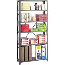 Safco Desk Organizer by Safco 6 Shelf Shelving Rack 36