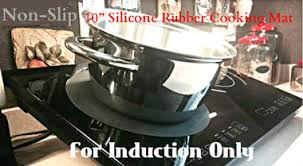 Cooker For Induction Cooktop True Induction Sp 101 Non Slip Silicone Rubber Cooking Mat For