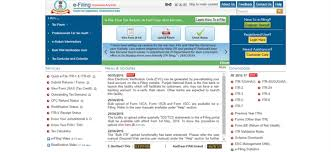 how to use incometaxindiaefiling gov in to e file income tax