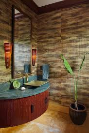 hot summer trend 25 dashing powder rooms with tropical flair bathrooms small and stylish powder room with textural beauty hot