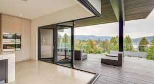frameless glass stacking doors slide clear adaptable spaces