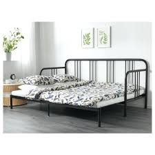 daybed black metal daybed frame in antique pewter ikea black