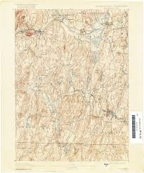 Brookfield Place Map Massachusetts Historical Topographic Maps Perry Castañeda Map
