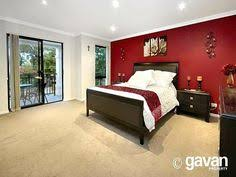 Red Bedroom Accent Wall A Red Bedroom Why Not Choose A Pale Or Darker Tone To Reduce The