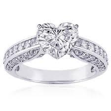 wedding ring types heart diamond wedding rings the wedding specialiststhe wedding