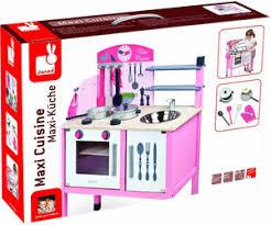 maxi cuisine mademoiselle janod janod maxi cuisine mademoiselle j06533 au meilleur prix sur idealo fr