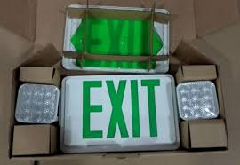 exit emergency light combo china emergency light ul combo exit sign led sign exit light