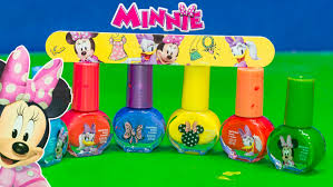 minnie mouse disney minnie mouse nail polish set a minnie mouse