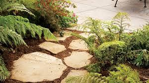 great garden paths sunset